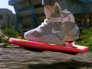 Nike's product placement in Back to the Future